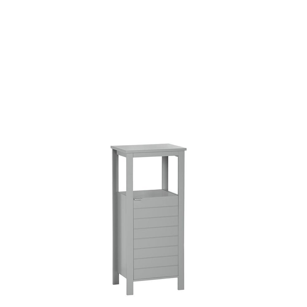 Madison 15.75 in. W Single Door Floor Cabinet in Gray
