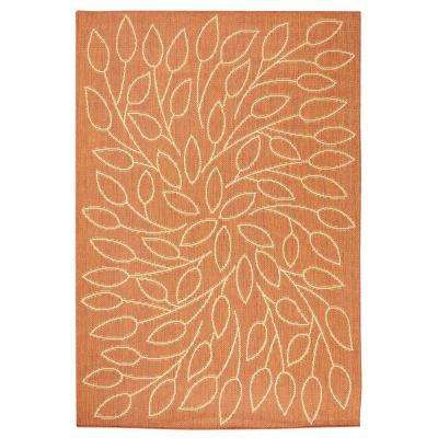 Persimmon Terracotta 9 ft. x 13 ft. Area Rug