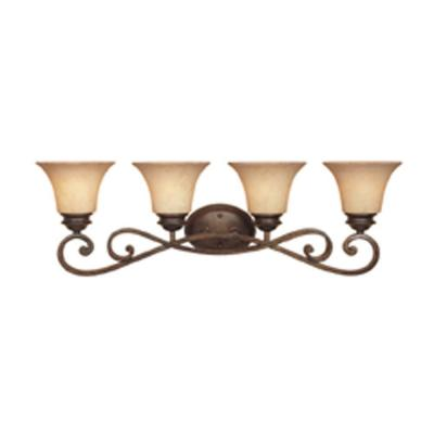 Mendocino 4-Light Forged Sienna Wall Light