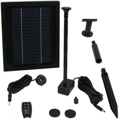 47 in. Lift 65 GPH Solar Pump Kit with Remote Control