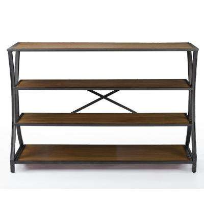 Lancashire Brown Console Table