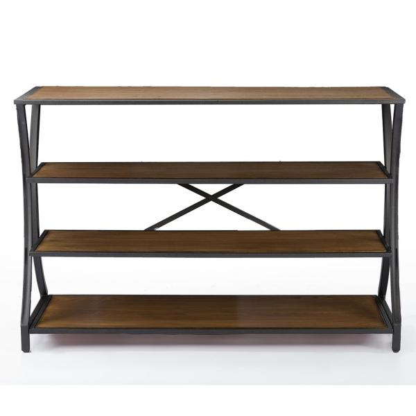 Baxton Studio Lancashire Brown Console Table 28862-5501-HD