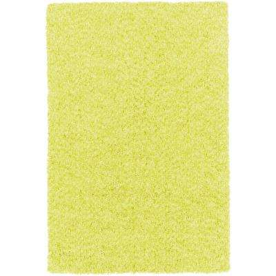 Charlie Bright Yellow 2 ft. x 3 ft. Indoor Area Rug