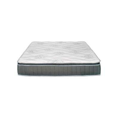 Hunter 10.5 in. California King Pocket Coil Mattress with Lumbar Gel