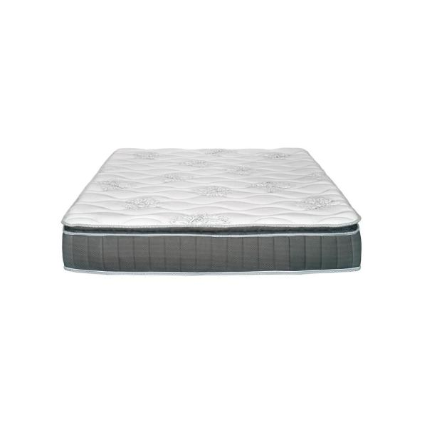 PRIMO INTERNATIONAL Hunter 10.5 in. California King Pocket Coil Mattress with Lumbar Gel