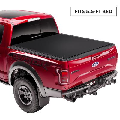 Sentry 04 06 07 Classic Chevy Silverado Gmc Sierra 5 Ft 8 In Bed Tonneau Cover 1580601 The Home Depot