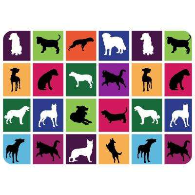 Comfort Dog in a Box 22 in. x 31 in. Pet Mat