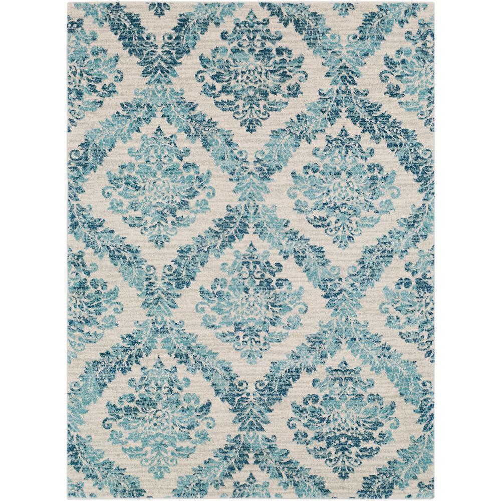 Artistic Weavers Agnetha Teal 5 x 7 ft. Area Rug (Blue)