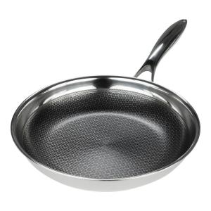 Stainless Steel Fry Pan with Non-Stick Coating