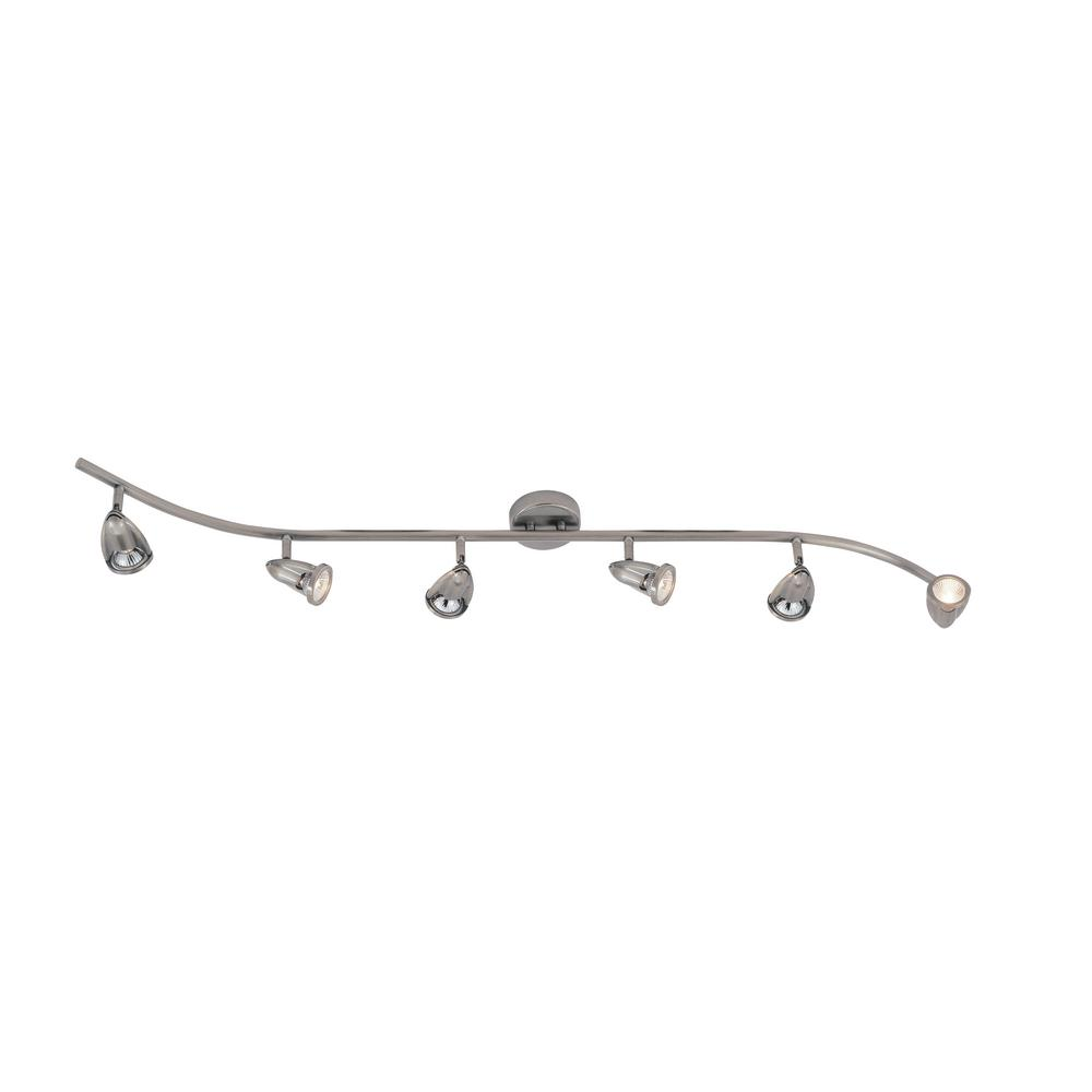 Stingray 4 ft. 6-Light Rubbed Oil Bronze Track Lighting Kit