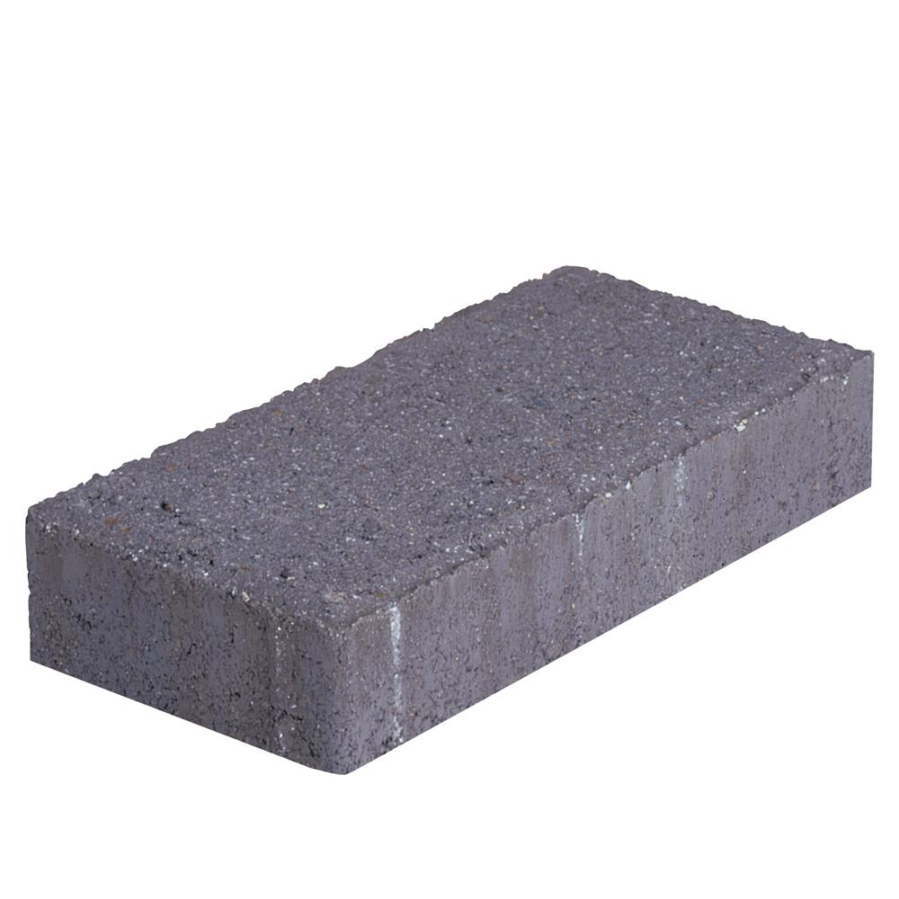 Holland 45 mm 7.87 in. L x 3.94 in. W x 1.77 in. H Charcoal Concrete Paver (672-Piece/145 sq. ft./Pallet)