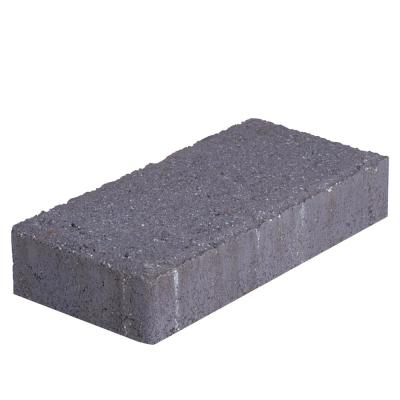 Pavestone Holland 45 mm 7.87 in. L x 3.94 in. W x 1.77 in. H Charcoal Concrete Paver (672-Piece/145 sq. ft./Pallet), Grey
