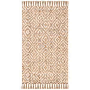 Natural Fiber Beige/Ivory 3 ft. x 5 ft. Indoor Area Rug