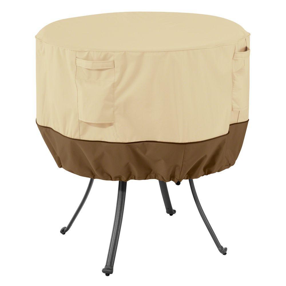 Veranda Large Round Patio Table CoverClassic Accessories Terrazzo Round Patio Table Cover 58202 EC  . Round Patio Set Cover. Home Design Ideas