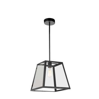 Alyson 1-Light Black Pendant
