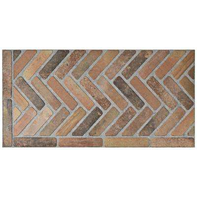 Alsacia Caldera 17-3/4 in. x 35-1/2 in. Porcelain Floor and Wall Tile (8 cases / 107.25 sq. ft. / pallet)