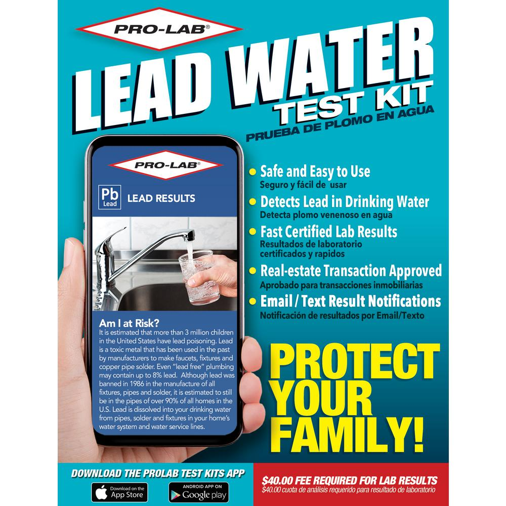PRO-LAB Lead-In Water Test Kit
