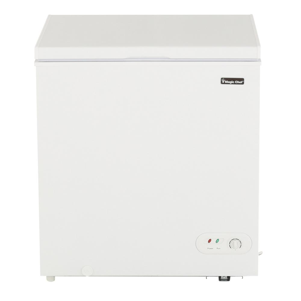 Magic Chef 52 cu ft Chest Freezer in WhiteHMCF5W2 The Home Depot
