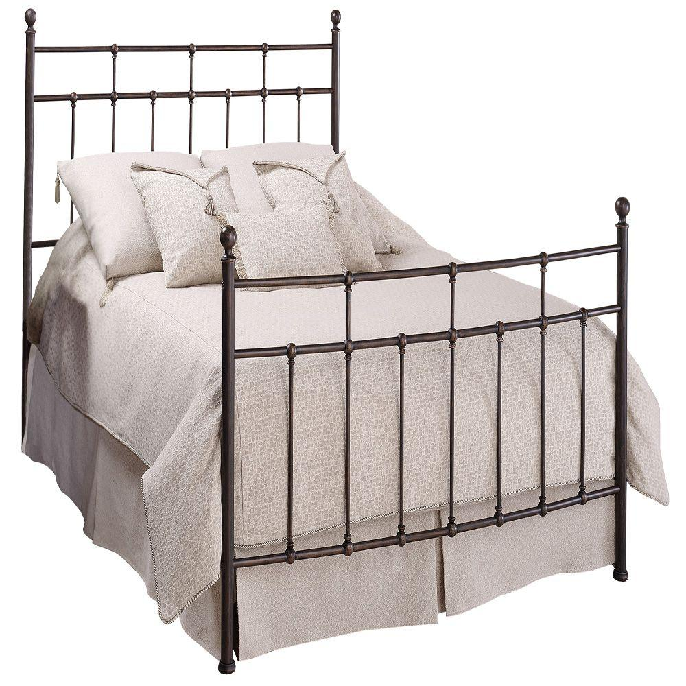 Hillsdale Furniture Providence Queen-Size Bed with Rails