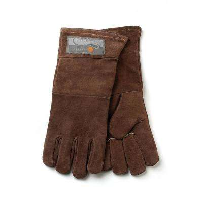 15 in. S/2 Leather Grill Gloves