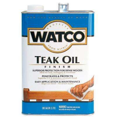 1 gal. Clear Matte 275 VOC Teak Oil (2-Pack)