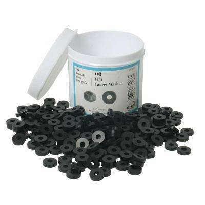 1/2 in. Flat Faucet Washers (Jar of 200)