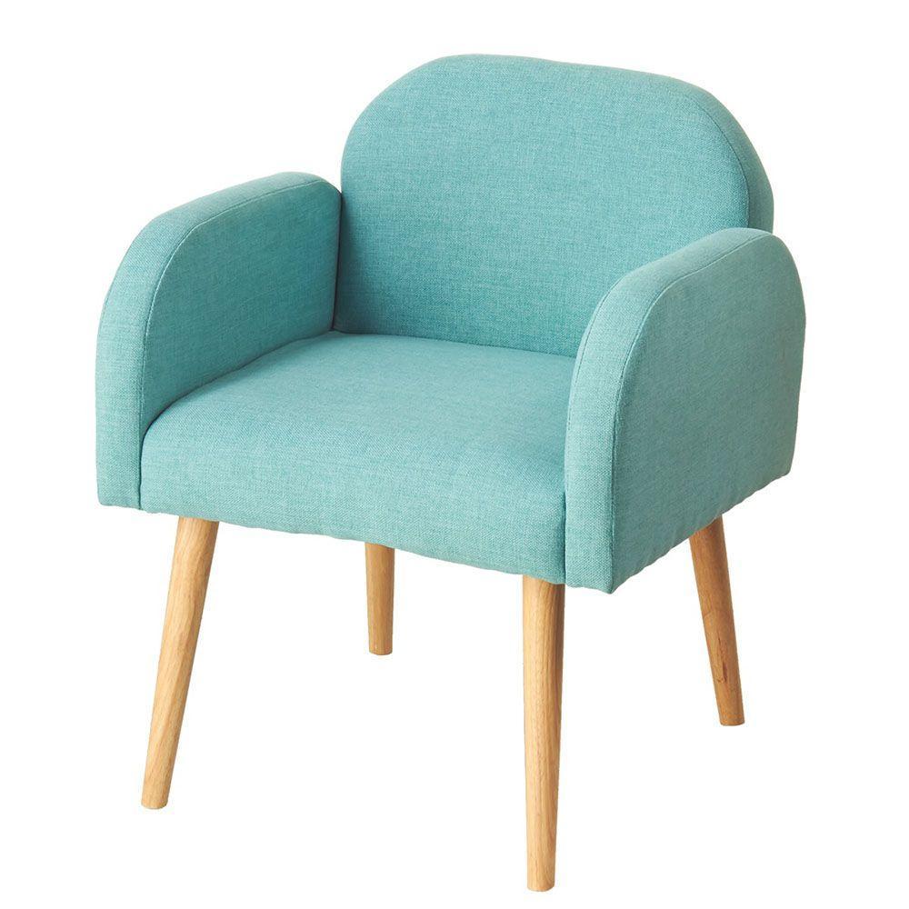 Sundry Blue Fabric Arm Chair
