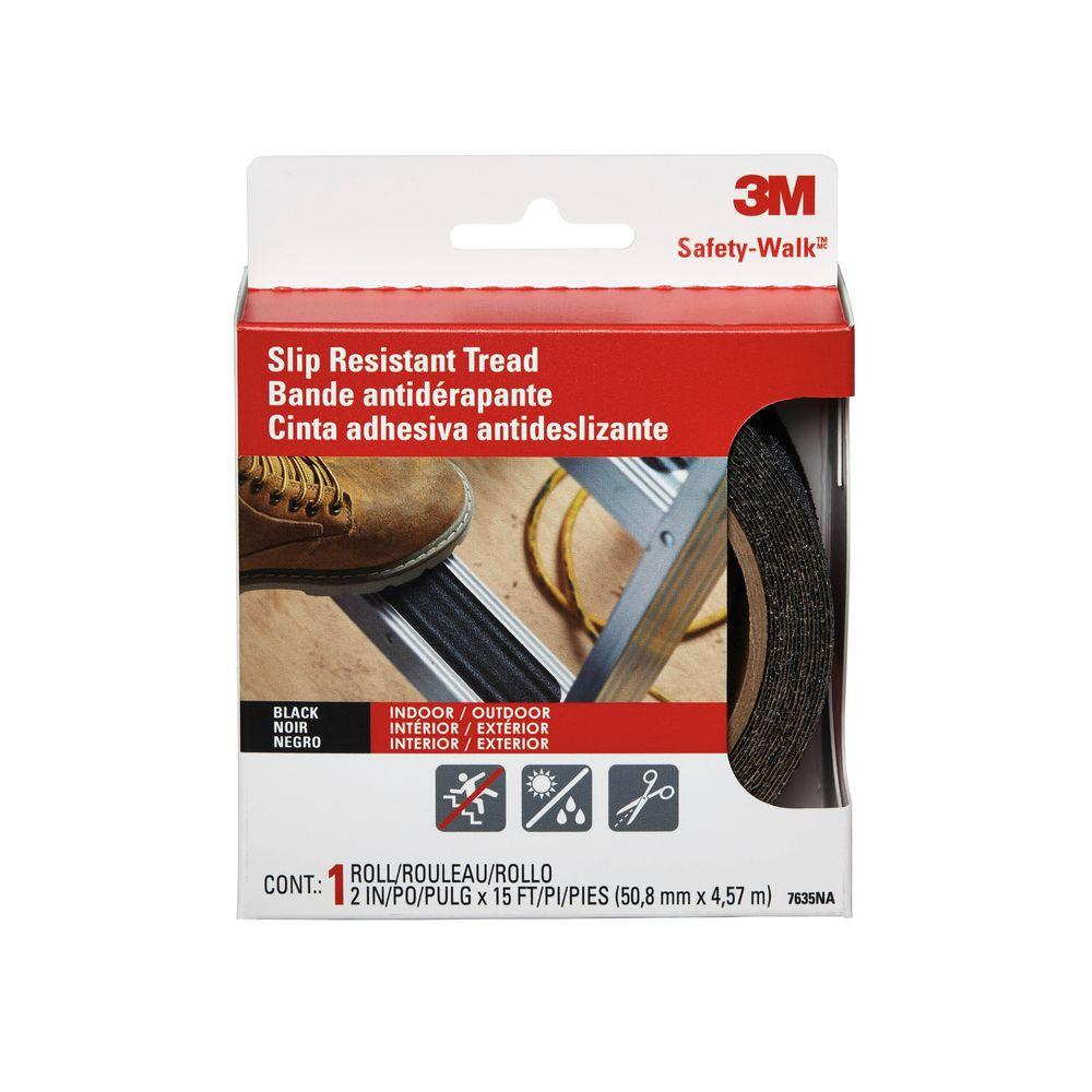 3M 2 in. x 15 ft. Safety Walk Step and Ladder Tread Tape