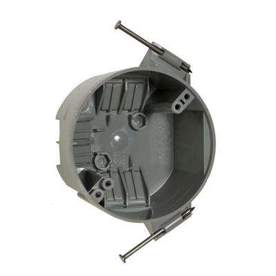 4 in. Round Non-Metallic Ceiling Cable Box, 2-3/8 in. Deep (75-Pack)