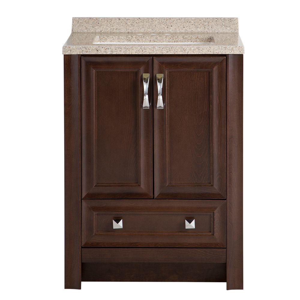 Candlesby 24-1/2 in. W x 18-3/4 in. D Bath Vanity in