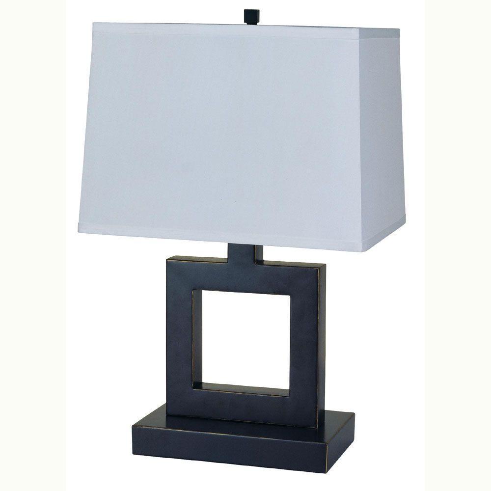 Dark Bronze Table Lamp 8137b