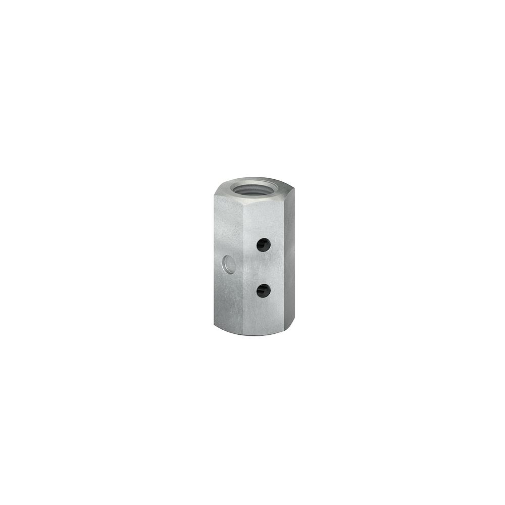 Simpson Strong-Tie 5/8 in. Dia Rod Coupler Nut