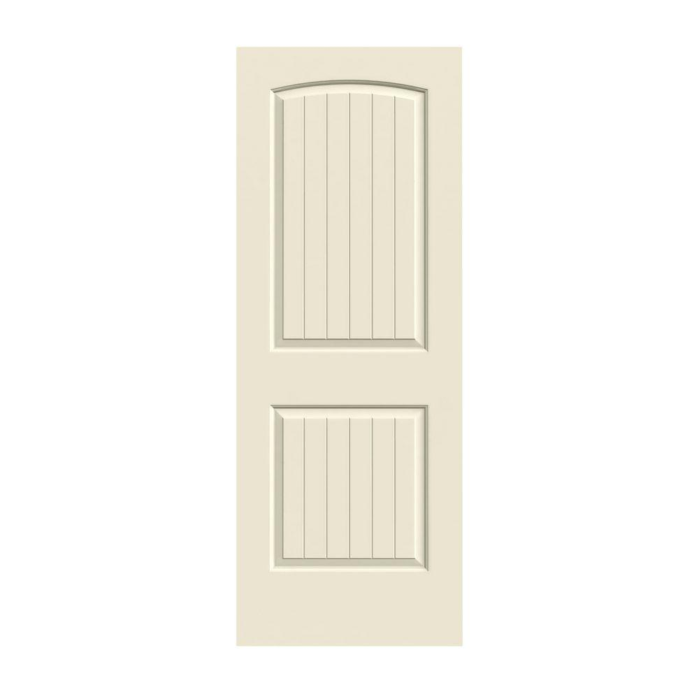 Exceptional JELD WEN 36 In. X 80 In. Santa Fe Primed Smooth Molded Composite