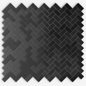 inoxia speedtiles caltrop black stainless 12 09 in x 11 65 in x 5 mm metal self adhesive wall. Black Bedroom Furniture Sets. Home Design Ideas