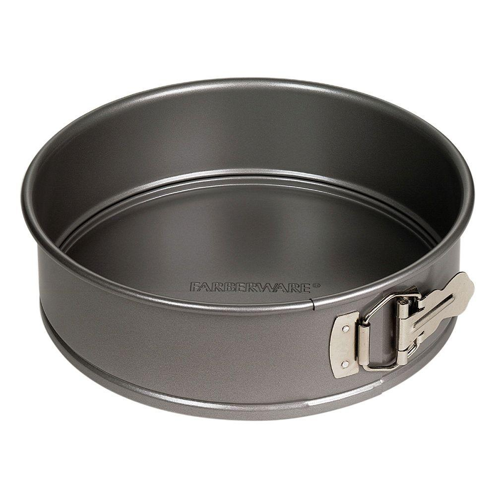 Farberware Steel Springform Cake Pan 52108 The Home Depot