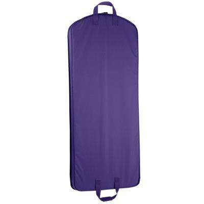 52 in. Purple Dress Length Carry-On Garment Bag