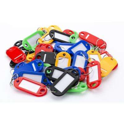 Assorted Multi Color Key Tags (50-Pack)