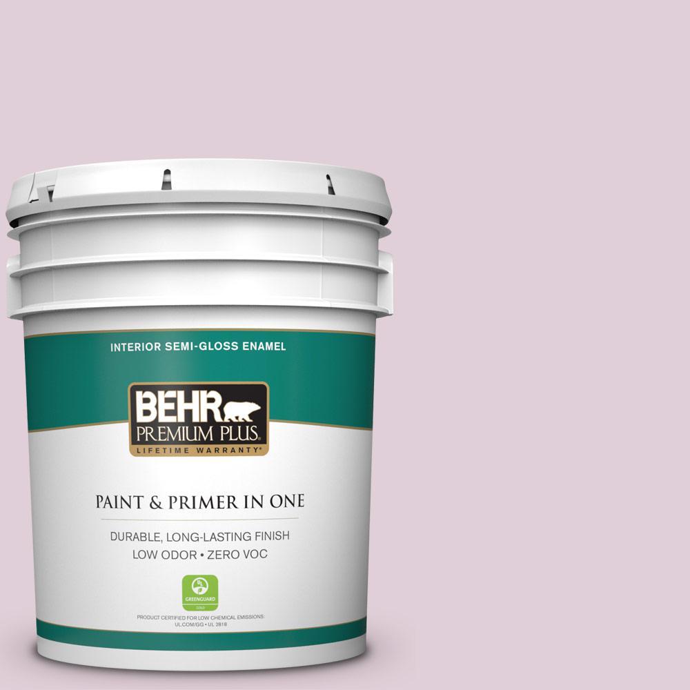 BEHR Premium Plus 5-gal. #S120-2 Etiquette Semi-Gloss Enamel Interior Paint
