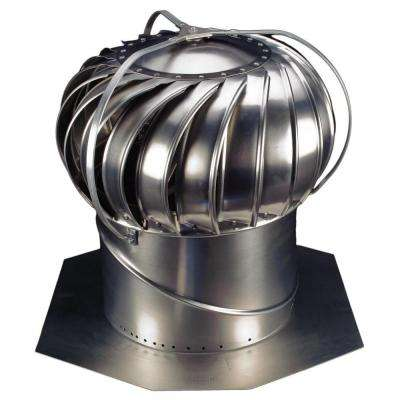 14 in. Mill Finish Aluminum Externally Braced Wind Turbine