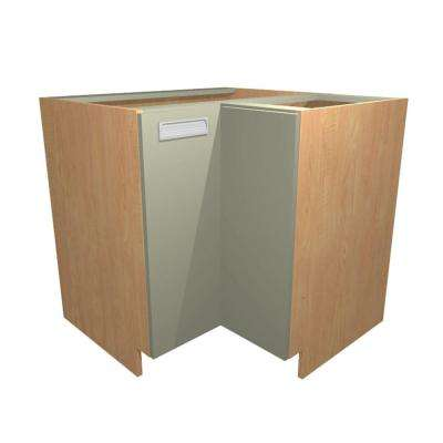 Genoa Ready to Assemble 36 x 34.5 x 24 in. Easy Reach Base Corner Cabinet with 2 Doors in Almond