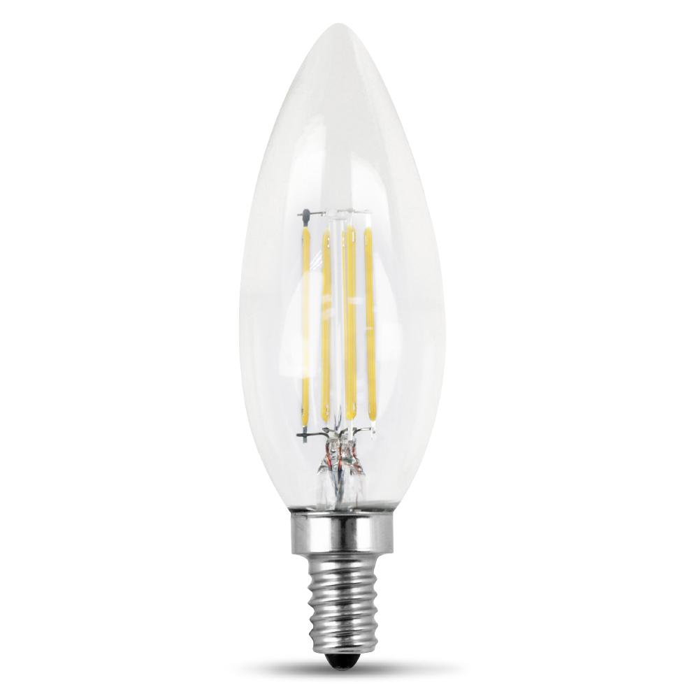 Feit Electric 60-Watt Equivalent Soft White (2700K) B10