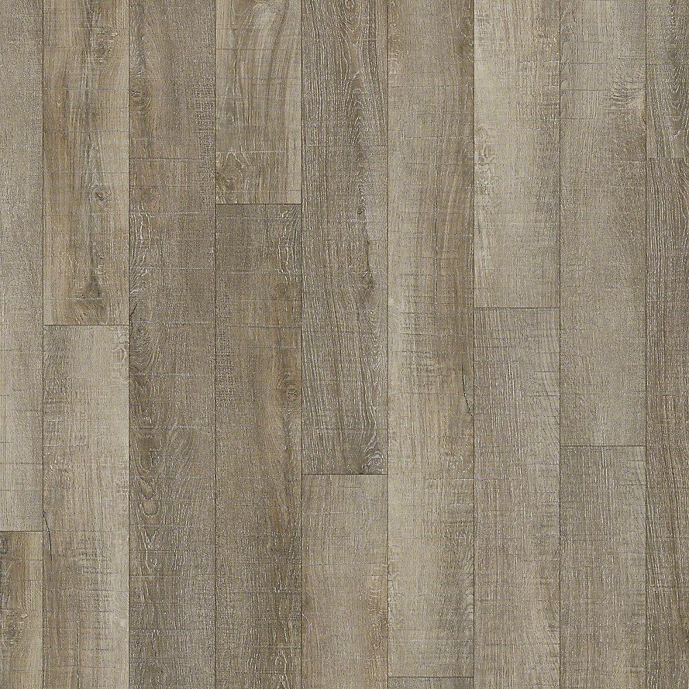 Take Home Sample - Austin Point Blank Resilient Vinyl Plank Flooring - 5 in. x 7 in.