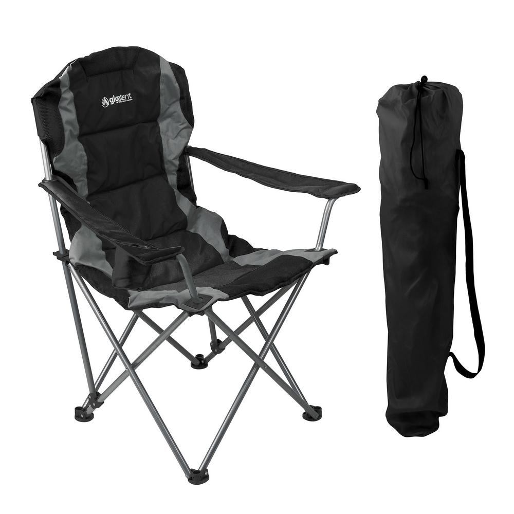 Gigatent Black Portable Design Lightweight Outdoor Camping Chair