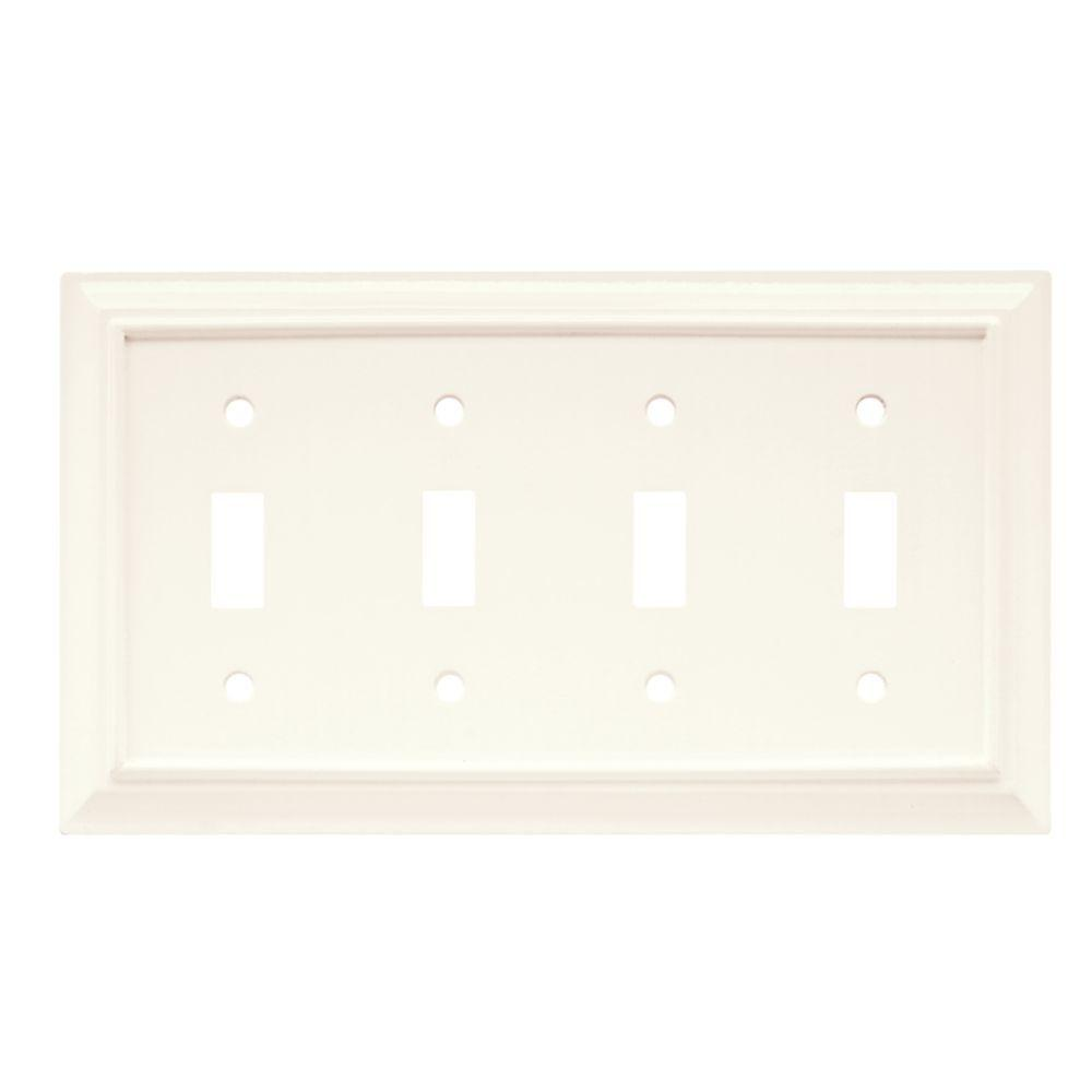 4 Switch Plate 4  Toggle Switch Plates  Switch Plates  The Home Depot