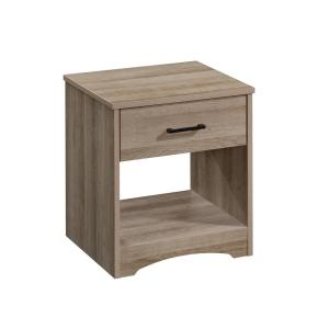Beginnings 1-Drawer Summer Oak NightStand 18 in.H x 17 in.W x 14 in.D