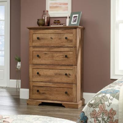 New Grange 4-Drawer Vintage Oak Chest