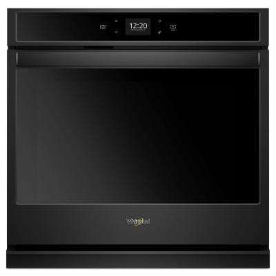 30 in. Single Electric Wall Oven with Touchscreen in Black