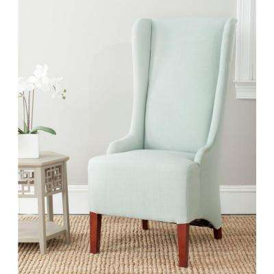 Bacall Seafoam Green Cotton Blend Dining Chair