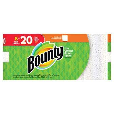 White Paper Towels (8-Huge Rolls)