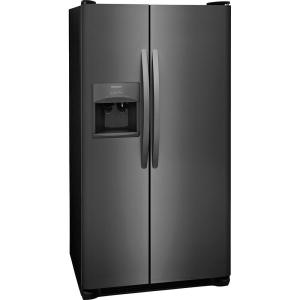 frigidaire 22 1 cu ft side by side refrigerator in black stainless rh homedepot com Frigidaire PureSource 2 Water Filtration Frigidaire PureSource 2 Water Filtration